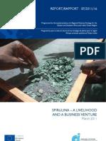 Spirulina a Livelihood and a Business Venture