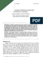Analisis Microscopico de Muestras Comerciales de Spirulina