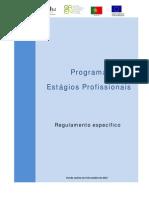 Regulamento Estagios Profissionais - Portaria 92-2011 Alterada Pela 309-2012