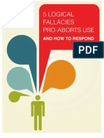 5 Logical Fallacies Pro-Aborts Use and How to Respond