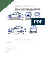 CACR-Dimensiunile Principale La Autovehicul