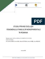Studiu Statistic Cu Privire La Fam Mono.