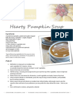 Hearty Pumpkin Soup