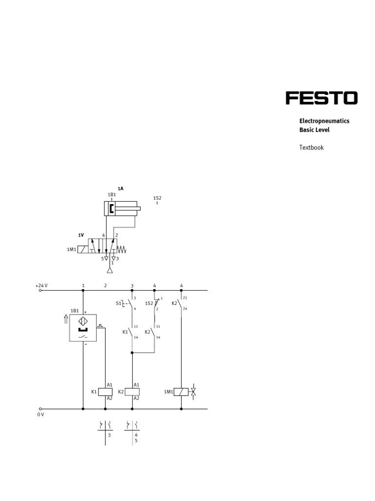 festo electropneumatics basic level capacitor relay rh scribd com Honeywell Fan Limit Switch Diagram Honeywell Limit Switch Wire Diagram