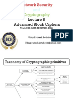 Network Security & Cryptography Lecture 8