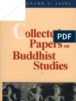 Padmanabh S. JAINI, Collected Papers on Buddhist Studies, Motilal Banarsidass