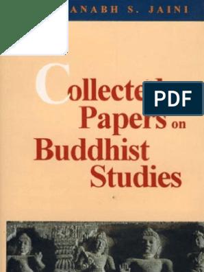 Padmanabh S  JAINI, Collected Papers on Buddhist Studies