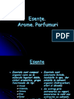 Referat Chimie Esente Arome Parfumuri