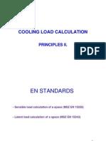 EPGEP Cooling Load - EU Standards