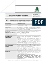 Benchmarking-Indicadores de desempenho ABTCP - Segurança e saúde do trabalho