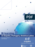 M-Learning en España, Portugal y América Latina (Scopeo)