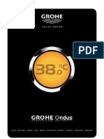 Grohe_nlfr_ ondus prijslijst - grohe ondus liste de prix