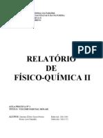 Relatório 1 - Volume Parcial Molar.doc