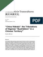 China Wahala_African Migration in China