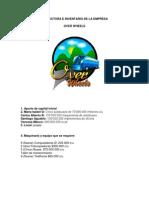 Estructura e Inventario de La Empresa