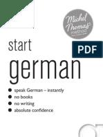 New Michel Thomas - Start German