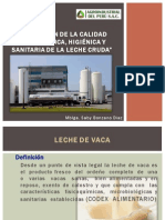 EVALUACIÓN DE LA CALIDAD FISICOQUÍMICA, HIGIÉNICA Y SANITARIA DE LA LECHE CRUDA_XIICONIA2012_UNPRG-LAMBAYEQUE