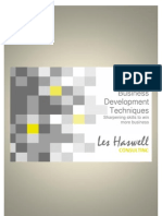 Advanced Sales & Business Development Brochure