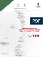 Imaginea Femeii in Societatea Romaneasca - Raport de Analiza Media