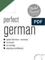 New Michel Thomas Perfect German