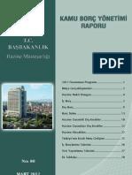 Kamu Borç Yönetimi Mart 2012