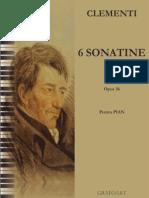 Clementi Sonatine Pian