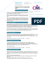 Level 5 Management and Leadership Qualification Guide