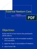 Essential Newborn Care 2013