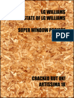 LG Williams/The Estate of LG Williams