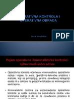 1operativna Kontrola i Operativna Obrada