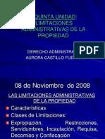 08 NOV Limitaciones Administrativas de La Propiedad