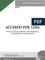 Acuerdo Por Lima . Version Final