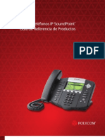 Soundpoint Ip Phones Product Reference Guide