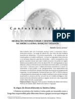 Zamora, R. - Migrações internacionais e desenvolvimento na América Latina - avanços e desafios
