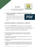 Bases Para Elecciones CeAl 2013