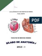 01silabo de Anatomia i 2013-i - Si