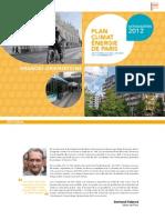 Grandes Orientations Du Plan Climat Energie 2012