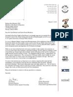 Persepolis Letter to Chicago Public Schools