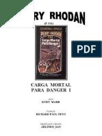 P-311 - Carga Mortal Para Danger I - Kurt Mahr