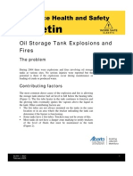 Oil Storage Tank Explosions and Fires