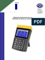 Manual Pce 830