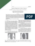 Radio Logical Diagnosis of Horn Cancer