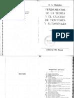 Funfamentos de La Teoria de... Automotris de CHUDAKOV