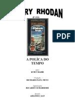 P-323 - A Polícia do Tempo - Kurt Mahr