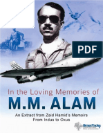 M M Alam  -- In loving memory of.