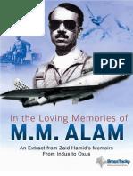 M M Alam  -- In loving memory of.