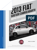 Fiat 500 and 500 Abarth Accessories Catalog-Fiat500USA.com
