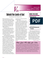Living to Win - March 2013