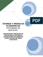 TEORÍAS Y MODELOS ECONOMICOS ORIGINAL