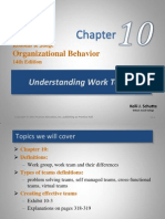 Chapter 10- Understanding Work Teams